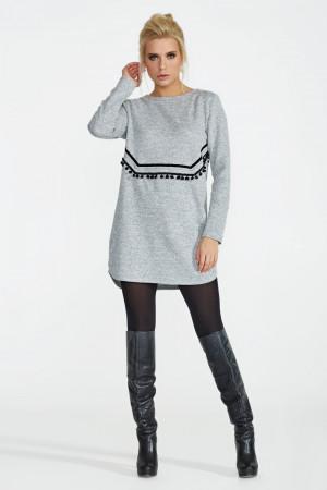 Сукня «Хост» сірого кольору