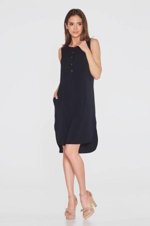 Платье «Теодора» черного цвета