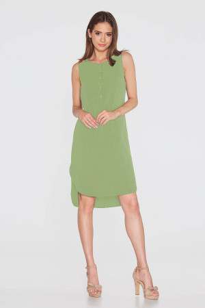 Платье «Теодора» зеленого цвета