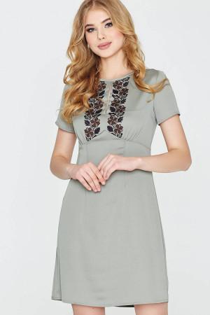 Платье «Янина» оливкового цвета
