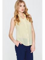 Блуза «Зорегляда» желтого цвета