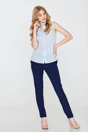 Блуза «Зорегляда» голубого цвета
