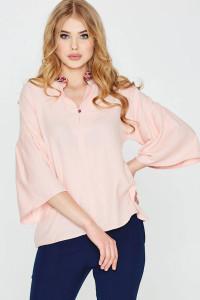 Блуза «Будана» розового цвета
