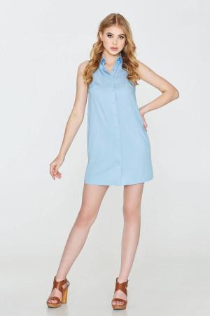 Платье «Ликерия» голубого цвета