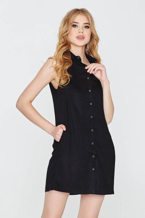 Платье «Ликерия» черного цвета