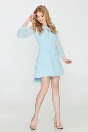 Платье «Лина» голубого цвета