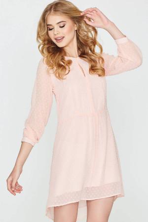 Платье «Лина» цвета пудры