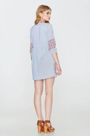 Платье «Ядвига» голубого цвета