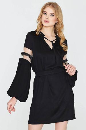 Платье «Кристина» черного цвета