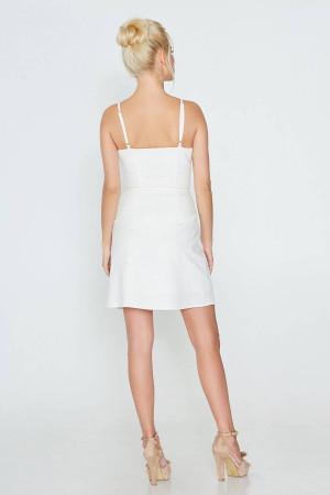 Платье «Руслана» белого цвета