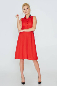 Сукня «Іларія» червоного кольору