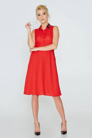 Платье «Илария» красного цвета