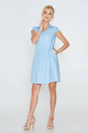 Платье «Марьяна» голубого цвета