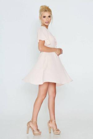 Платье «Фросина» розового цвета