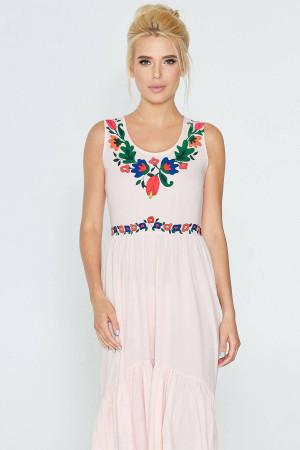 Сукня «Рогніда» рожевого кольору