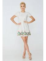 Платье «Виталия» белого цвета