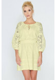 Сукня «Катря» жовтого кольору