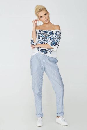 Блуза «Килина» білого кольору