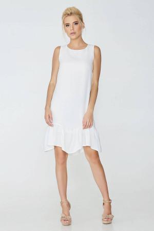 Платье «Душана» белого цвета