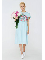Сукня «Лідія» ментолового кольору