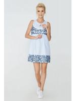 Платье «Ирэна» голубого цвета