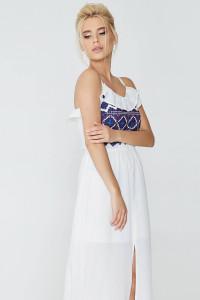 Сарафан «Олівія» білого кольору