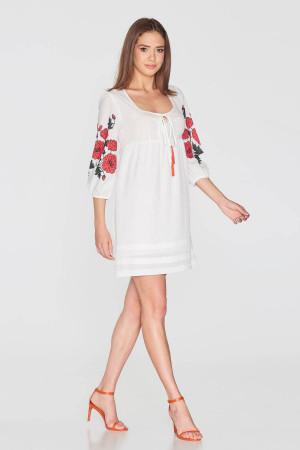 Платье «Малюта» белого цвета