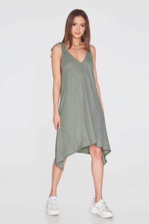 Платье «Микаэла» серого цвета