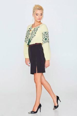 Блуза «Софійка» жовтого кольору