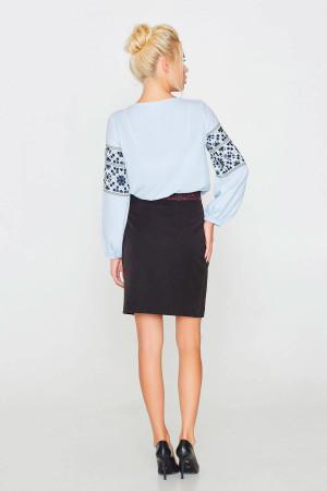 Блуза «Софийка» голубого цвета