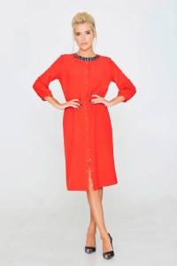 Сукня «Світана» червоного кольору