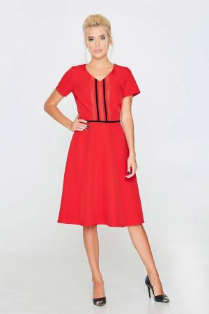 Платье «Настуня» красного цвета
