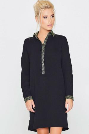 Платье «Орися» черного цвета