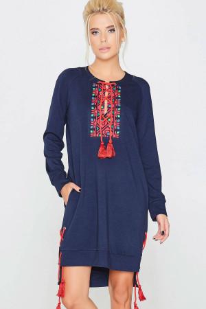 Сукня «Тава» синього кольору