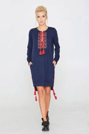 Платье «Тава» синего цвета