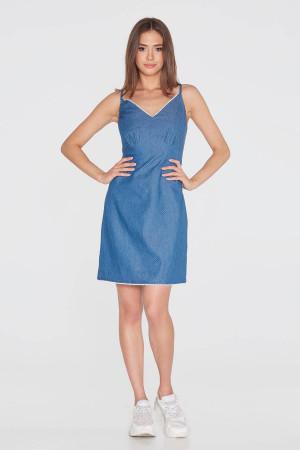 Сукня «Бейзер» синього кольору