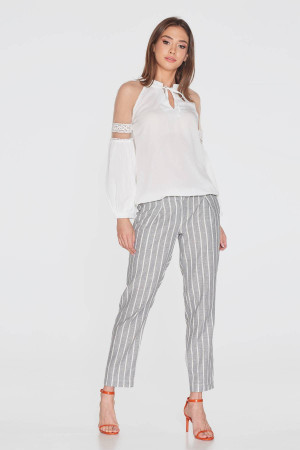 Блуза «Джаннет» белого цвета