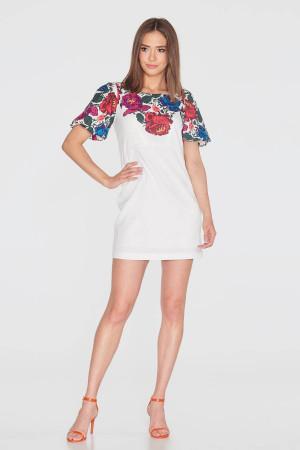 Сукня «Квітуча елегія» білого кольору
