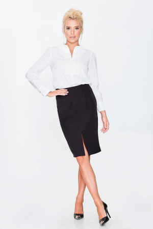 Блуза «Сусанна» белого цвета