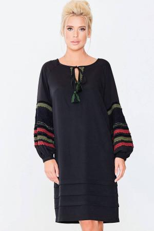 Сукня «Констанція» чорного кольору