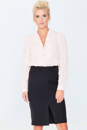 Блуза «Драгомира» розового цвета
