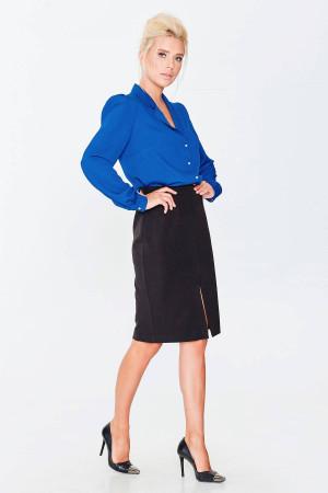 Блуза «Драгомира» синього кольору