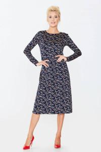 Сукня «Віталія» темно-синього кольору