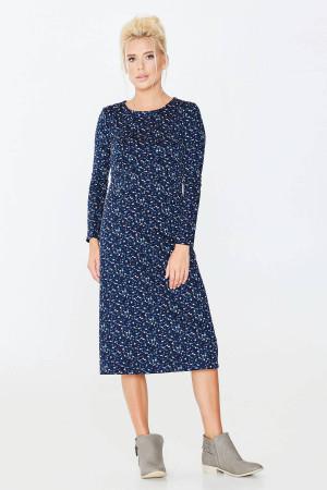 Платье «Виталия» синего цвета