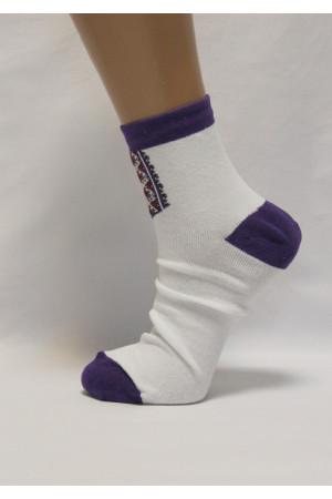 Вишиті жіночі шкарпетки Ж-26
