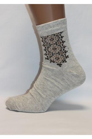 Вышитые мужские носки М-38