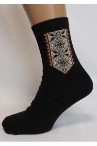 Вышитые мужские носки М-34