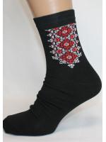 Вышитые мужские носки М-35