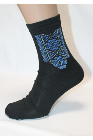Вышитые мужские носки М-37