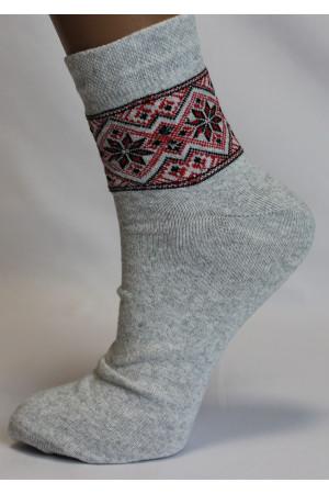 Вышитые женские носки Ж-17